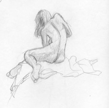 Not Another Life Drawing by Phishi
