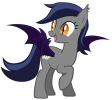 Echo the Bat Pony 5 by Zee66