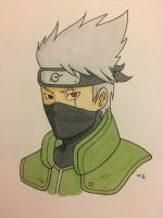 Hatake Kakashi by DropKickEngine