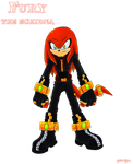 Fury The Echidna by grim-zitos