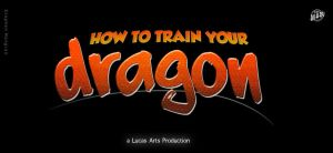 How to train your Dragon Logo by mangion