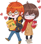 707 Mystic Messenger by sziabori