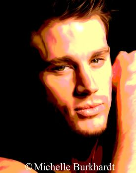 Channing Tatum Digital Painting by Masharia