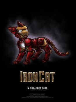 Iron Cat by freelancemanga