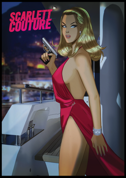 Des Taylor's Sexy Spy - Scarlett Couture by DESPOP