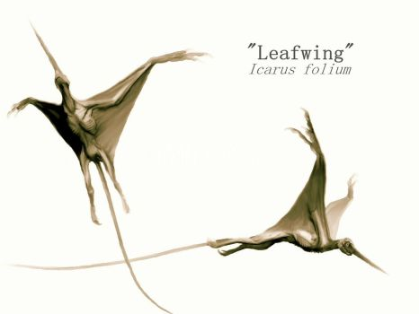 Leafwing Creature by Mirroraptor