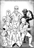 Revolution of the Mask group by devillo