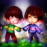 A second chance- Undertale by Vhoii