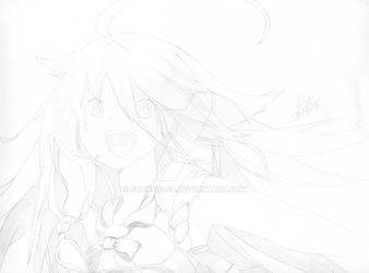 IA pencil lineart by sucker068