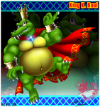 K. Rool the mighty Kremling King by Bowser2Queen