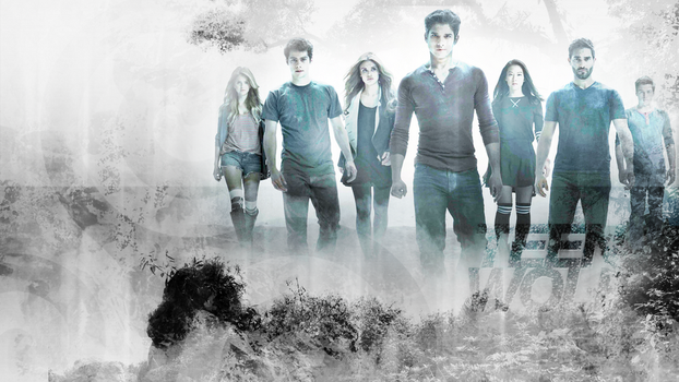Wallpaper ~ Teen Wolf by FlowerskaHoneyLand