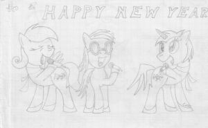 MFOEF - Happy New Year (2013) by Imaflashdemon