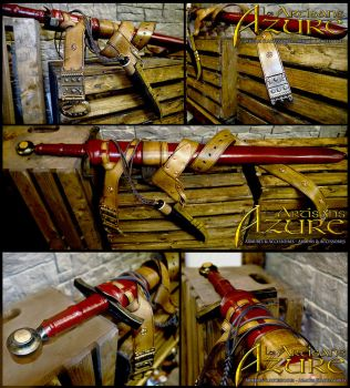 Galial's sword and scabbard by ArtisansdAzure