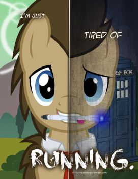 MLP - Two Sides of Doctor Whooves by TehJadeh