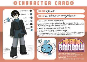 Oliver Lark PR Trainer Card by octopusxtimexkeeper
