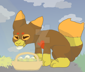 Collecting the eggs - Pillowing Spotlight #3 by Appellemoigrrrr