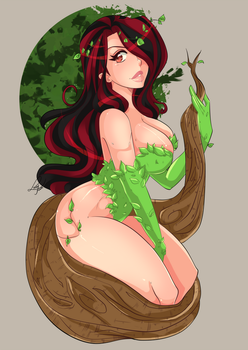 Nama in Poison Ivy Cosplay by lufidelis