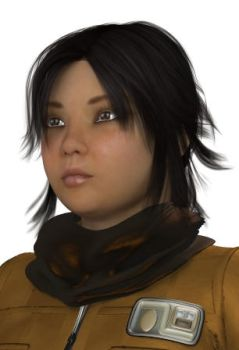 NS90 - Test render of Rose Tico by MndlessEntertainment