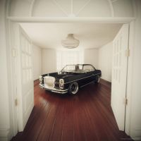 Mercedes benz 280C by sergoc58