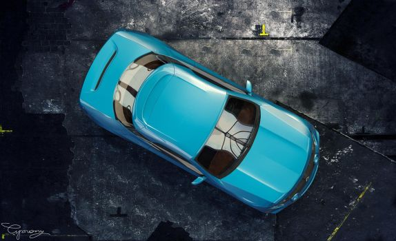Renault 8 Gordini - concept V2 - 8 by cipriany