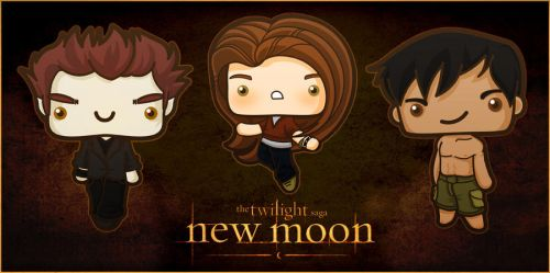 New Moon by SquidPig