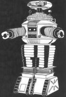 Lost in Space Robot by DementedInk