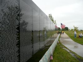 Vietnam Moving Wall names 3 by dull-stock