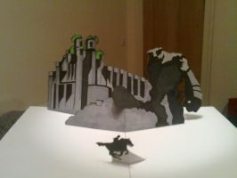 Shadow of the Colossus Pop Up by WillziakDS