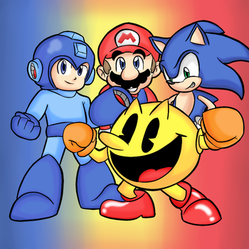 4 Icon by thegamingdrawer