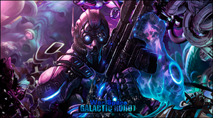 galactic robot by mariocent