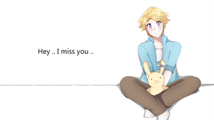 MMYoosung : I miss You .. by TrainerAshandRed35