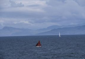 Red sails........Scotland by jennystokes