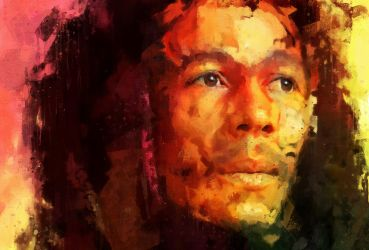 Bob Marley by Cr8ivDigitalPainting