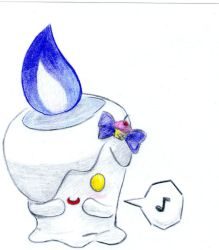 Litwick by Chandelure-Lover