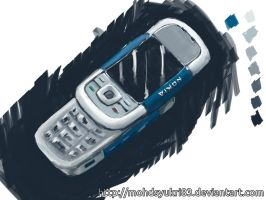 Quick painting - Nokia 5300 by real-hybridjunkie