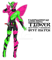 COMMISSION : Kamen Rider Tinker by RamenDriver