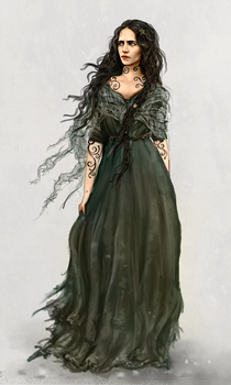 The Selkie Witch by MarianneEie
