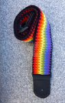 Rainbow - guitar strap by SleyTheDent