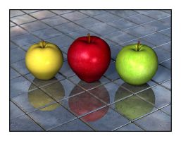 Three Apples by parrotdolphin