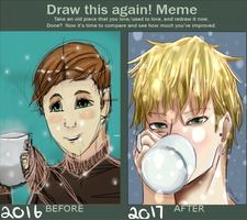 Draw This Again Meme by Unable-To-Think