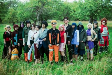 naruto cosplay by Perevinkl