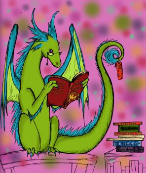 love of books by fantasy-coolcat
