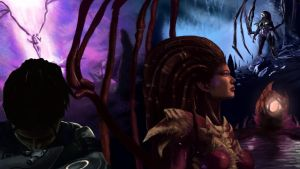 Kerrigan, Queen of Blades by ChuckMcnugget