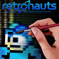 Retronauts Cover 3: High Fidelity Gaming by P5ych