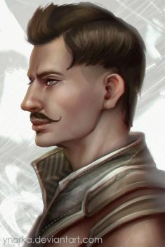 Dorian Portrait 2 by ynorka