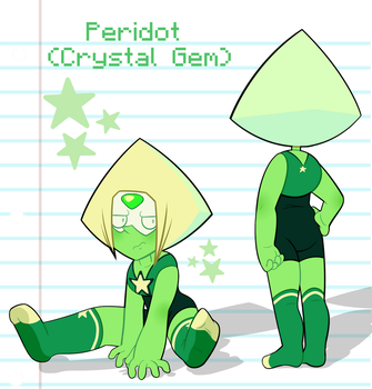 Peridot (Crystal Gem Form) by DaniGhost