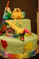 adventure time cake 2 by soup1335
