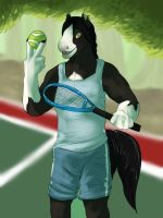 Tennishorse by Whitefeathur