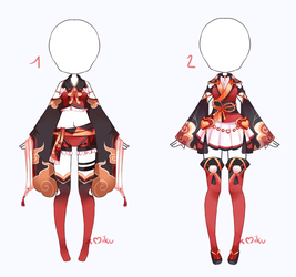 {Closed} Auction Outfit 321 - 322 by xMikuChuu