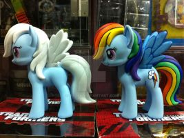 Hasbro Design a Pony Rainbow Dash by BazSg